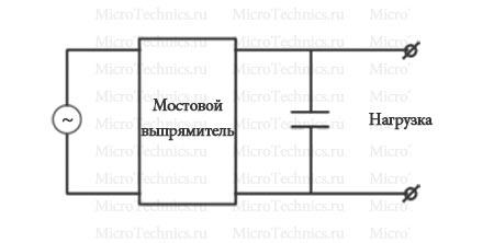Полноценный выпрямитель тока =)