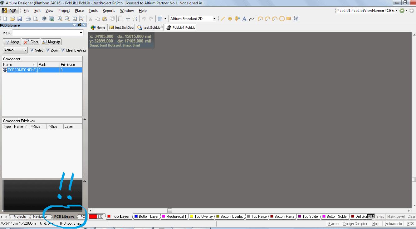 Редактирование свойств PCB Editor.