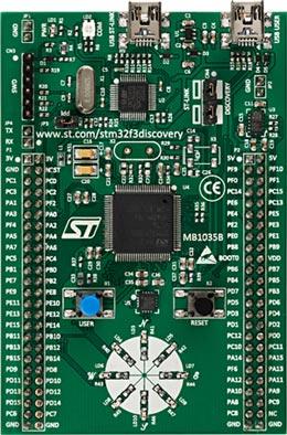Отладочная плата STM32F3Discovery