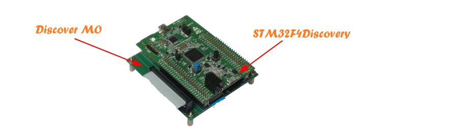 STM32F4Discovery Discover-MO