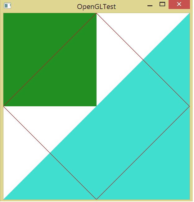 Ломаная линия а OpenGL