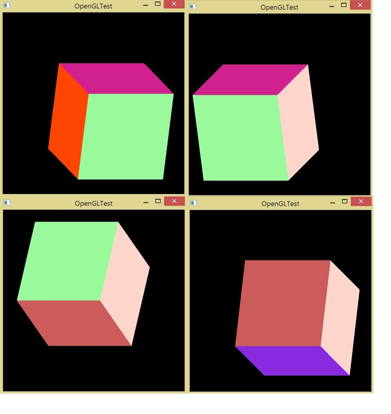 Поворот изображения в OpenGL