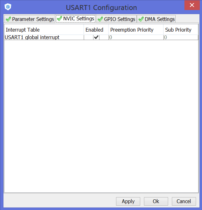 Прерывания в STM32Cube