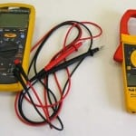 Измерение тока и напряжения. Вольтметр и амперметр.