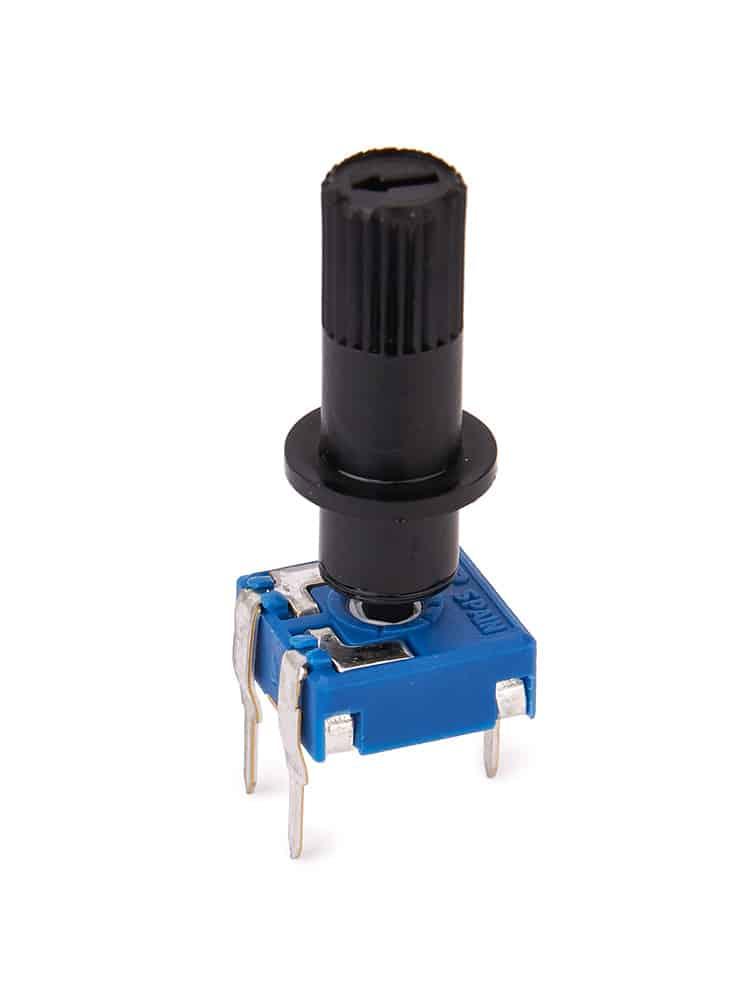 Поворотный резистор