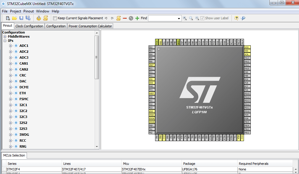 Getting started with STM32Cube