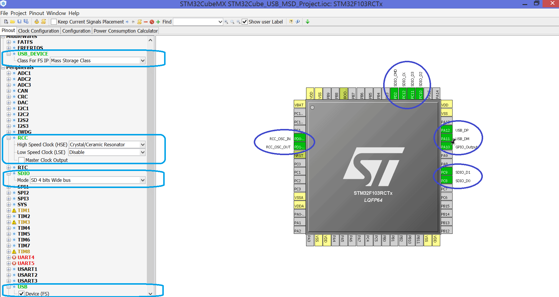 STM32 and USB  Mass Storage + SD Card  | MicroTechnics