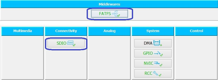 STM32Cube  Microcontroller STM32 and FatFs  | MicroTechnics