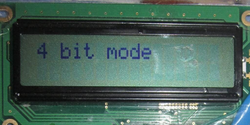 Подключение HD44780 к STM32.
