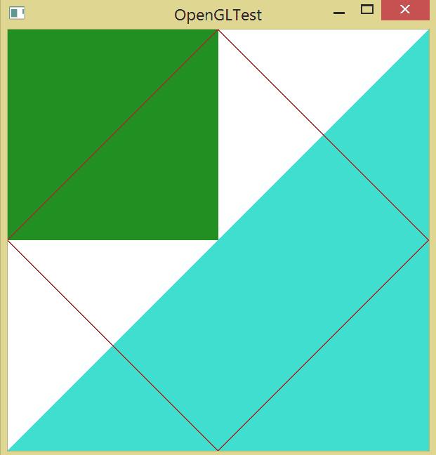 Ломаная линия в OpenGL.