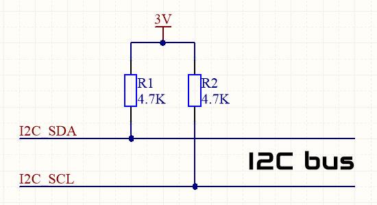 STM32 I2C подтягивающие резисторы.