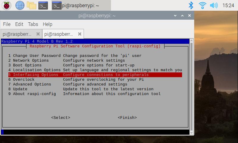 Raspi-config SSH