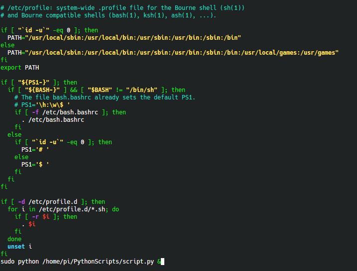 Автозапуск python скрипта на Raspberry Pi