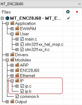 STM32, протокол IP.